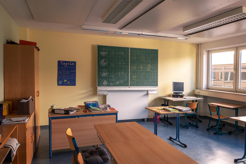 Unterricht in der Lernwerkstatt   Berthold Simonsohn Schule